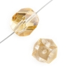 Fire polished Fancy Cut 16mm Crystal Celsian Half Coat